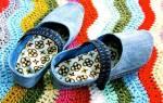 Тапочки из джинсов своими руками: новая жизнь для любимой одежды