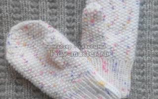 Варежки для детей своими руками: теплое изделие для ребенка 3-4 лет