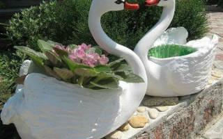 Лебедь из пластиковых бутылок своими руками: простые техники изготовления