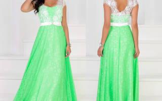 Выкройка платья из шифона: учимся делать различные фасоны