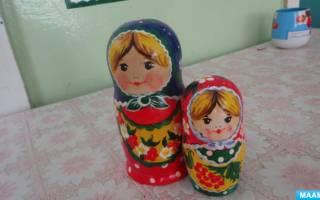 Роспись матрешки: мастер-класс для начинающих по русскому символу