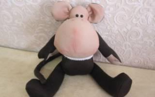 Выкройка тильды обезьянки: легкий урок для рукодельниц