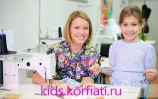 Кройка и шитье для начинающих на примере детской одежды