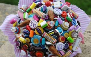 Букеты из конфет: мастер-класс для новичков