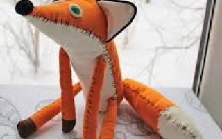 Как сшить лиса из маленького принца: любимая игрушка для детей