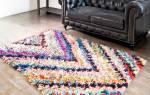 Коврики из лоскутков ткани своими руками: добавляем в дом красоты и уюта