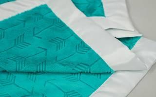 Одеяло для новорожденного своими руками из мягкого материала