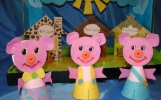 Кукольный театр своими руками: маленькое представление для юного зрителя