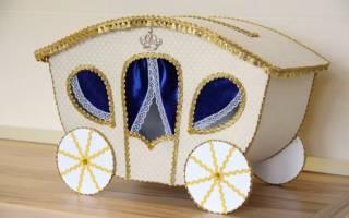 Коробка для денег на свадьбе: готовимся к незабываемому празднику