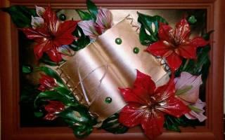 Картины из ткани своими руками: наполняем дом новыми красками
