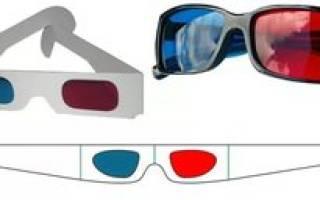 Как сделать 3d-очки в домашних условиях: пошаговый урок