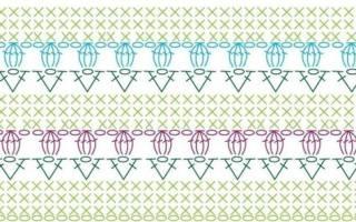 Как читать схемы вязания крючком?