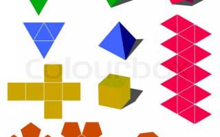 Геометрические фигуры из бумаги: советы от опытных рукодельниц