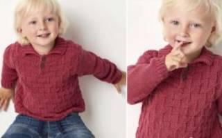 Пуловер для мальчика спицами: варианты на разный возраст