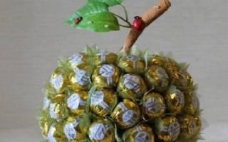 Подарки из конфет своими руками: вкусно и красиво