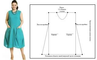 Выкройки платьев для полных женщин: советы и рекомендации по построению