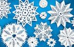 Как вырезать снежинки из бумаги своими руками поэтапно по трафаретам