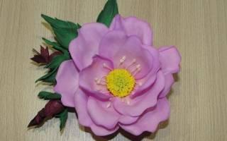Мастер-класс по фоамирану: знакомимся с техникой на примере изготовления цветов