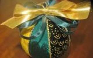 Мастер-класс по кинусайге для начинающих: новогодние шары, розы и многое другое