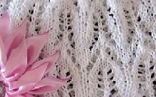 Ажурная шапочка для девочки спицами: варианты и идеи для творчества