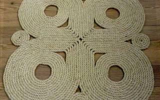 Плетение из веревки своими руками: отобранные советы