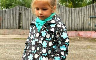 Выкройка пальто для девочки: лучшие варианты для юных леди