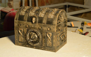 Пиратский сундук своими руками: самодельные сокровища дейви джонса