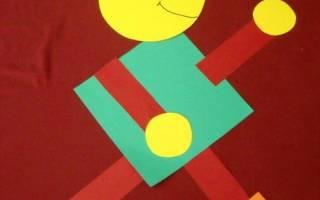 Аппликации из геометрических фигур для детей любого возраста