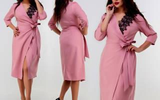 Выкройка платья с запахом: учимся конструировать быстро и легко
