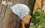 Косынка на резинке своими руками: стильный и удобный головной убор за один вечер
