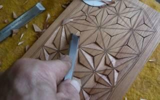 Геометрическая резьба по дереву: тонкости и хитрости на практике