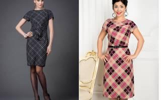 Платье с цельнокроеным рукавом: моделируем и шьем за пять минут
