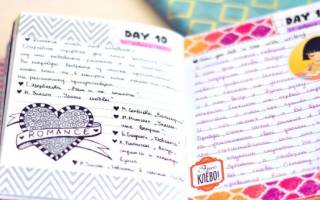Оформление личного дневника внутри своими руками с фото: интересные идеи для страниц