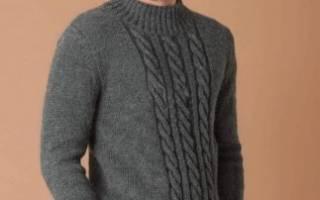Вязание спицами для мужчин 2018: последние модные тенденции