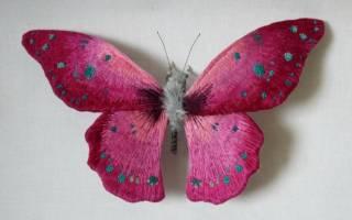 Объемная бабочка своими руками: яркость и легкость в маленькой поделке