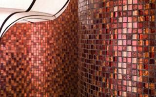 Мозаика из стекла: элемент декора для дома
