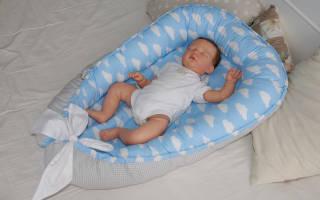 Гнездо для новорожденных своими руками: делаем полезные вещи сами