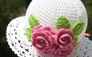 Ажурная шапочка крючком: будьте оригинальны и неповторимы