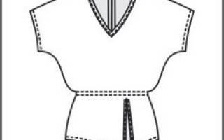 Выкройки блузок для деловых встреч и светских вечеров