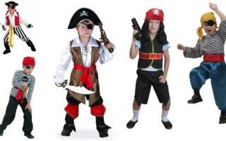Карнавальные костюмы для детей своими руками: хитрый пират и добрый буратино