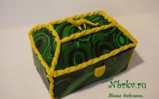 Малахитовая шкатулка своими руками: мастерство воссоздания каменного узора