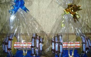 Гантель из конфет своими руками: как сделать сладкий и запоминающийся подарок
