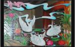 Роспись акриловыми красками по стеклу: мастер-класс для начинающих художников