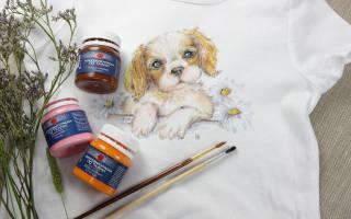 Акриловая краска по ткани: делаем уникальную одежду